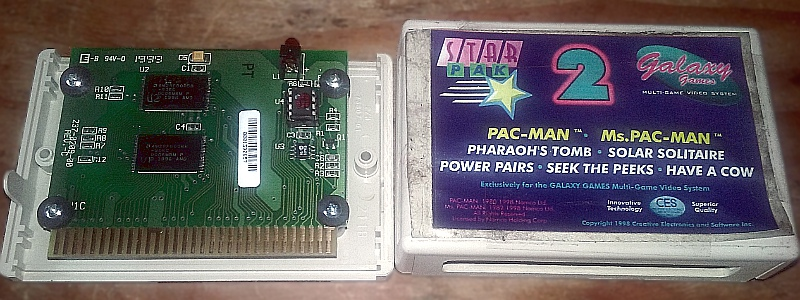 Galaxy Games StarPak 2 Cartridge