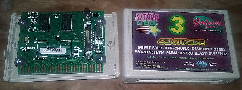 Galaxy Games StarPak 3 Cartridge