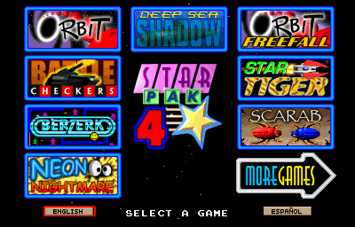 Galaxy Games StarPak 4