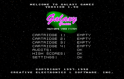 Galaxy Games (Base Games)