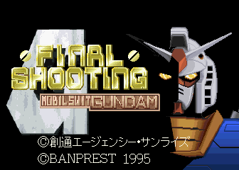 Mobil Suit Gundam Final Shooting