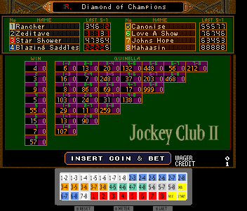 Jockey Club II Clickable Keyboards (1-P Normal)
