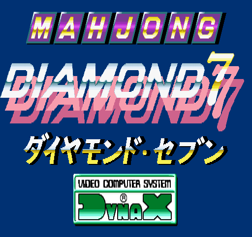 Mahjong X-Tal/Diamond 7